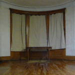 White Washed Curtains